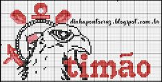Domingo abençoado a todos! Hama Beads, Lily, Comics, Fictional Characters, Cross Stitch Bird, Cross Stitch Love, Coat Of Arms, Artists, Pictures