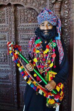 Pakistani heritage. Sindhi folk singer Allan Fakir.