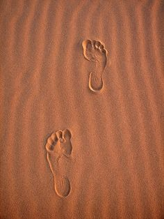 You can't make footprints in the sand of time if you're sitting on your butt. And who wants to make buttprints in the sands of time? Bob Moawad