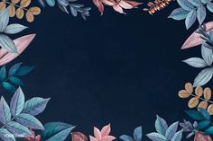 Flower Background Wallpaper, Flower Phone Wallpaper, Background Images Wallpapers, Leaf Background, Flower Backgrounds, Background Patterns, Cute Wallpapers, Wallpaper Backgrounds, Backgrounds Free