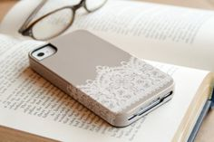iPhone Case - Antique Lace  Romantic fashion for your iPhone or Samsung Galaxy