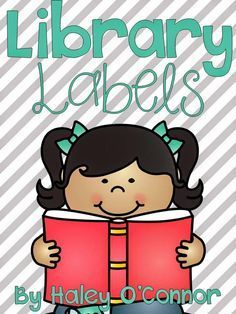 """FREE labels for your classroom library :).....Follow for Free """"too-neat-not-to-keep"""" teaching tools & other fun stuff :)"""