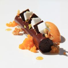 The Magazine Online - Chocolate – Sweet Potato Pastry Recipes, Chef Recipes, Baking Recipes, Fancy Desserts, Just Desserts, Beautiful Desserts, Culinary Arts, Plated Desserts, Creative Food
