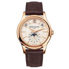 707ade4385d Patek Philippe Annual Calendar Rose Gold (5205R) Watch Complications