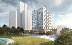 pxt - Pichler & Traupmann Architekten Skyscraper, Multi Story Building, Projects, Log Projects, Skyscrapers, Blue Prints