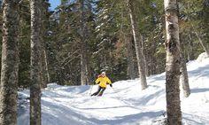 Brackett Basin Sugarloaf Ski Area as seen at VisitMaine.net