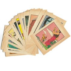 Vintage Paper Ephemera Pack Comic Book Pages ❤ liked on Polyvore featuring fillers and objects