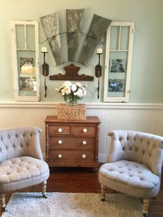 Windmill blades living room entryway bench, storage, furniture, home decor, Windmill Decor, Farmhouse Decor, Modern Farmhouse, Farmhouse Style, Elle Decor, Furniture Decor, Home Remodeling, Living Room Decor, House Design