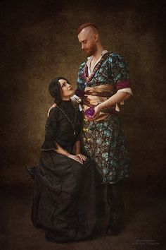 Olgierd and Iris Von Everec cosplay Witcher Art, Witcher 3 Wild Hunt, The Witcher 3, Geralt Of Rivia, Ciri, Video Game Art, Video Games, Agent 00, Game Character