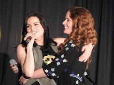 Lana Parrilla and Rebecca Mader at New Jersey's Con - 4 and 5 of June, 2016