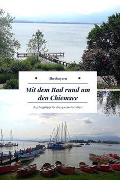 Der Chiemsee Radweg ist das ideale Ausflugsziel südlich von München in Oberbayern. Bestens geeignet für Familien.