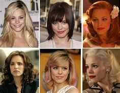 Rachel McAdams is the master of disguise! She can do any hairstyle an still look gorgeous!
