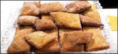 Rosquillas de pueblo, receta casera - Cocina familiar
