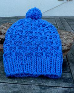 Mützen - superweiche Mütze Kinder royalblau - ein Designerstück von DeineWunschmuetze bei DaWanda