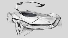 bmw X tamiya on Behance Car Design Sketch, Car Sketch, Sketch Inspiration, Design Inspiration, Rendering Art, Sketching Techniques, Steps Design, Car Drawings, Cool Sketches