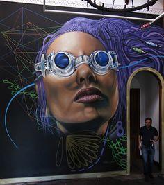 castlenlan Tenerife / Islas Canarias / spray / graffiti / mural