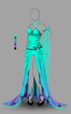 Outfit design - 157 - closed by LotusLumino on DeviantArt