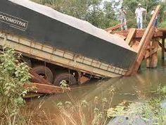 Ponte na Amazonia que Caiu com a Carreta