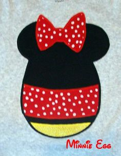Minnie mouse egg