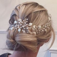 Laura Hairvine  Wedding Hair Vine Bridal by IvyandPearlBridal