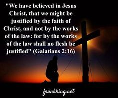 The doctrine of justification by faith is fundamental to all genuine Christian denominations. We may worship differently, sing differently, or preach differently, but we all believe that there is but one way to get right with God. We must place our faith in Jesus' redemptive work on the cross. Click the image to read the entire post.