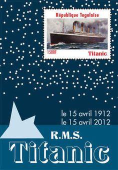 Togo Titanic 100 Year Anniversary Stamp Souvenir Sheet TOG1203S | eBay