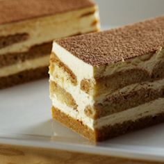 Quick Tiramisu at only 107 calories a serving.In a medium bowl, mix together ricotta, sugar, vanilla and cinnamon.In a 9x5 in. loaf pan, place 6 ladyfingers in a single layer. Top with 2 Tbsp. espresso, ricotta, remaining ladyfingers, other 2 Tbsp. espresso and melted chocolate. Refrigerate 30 minutes and serve.