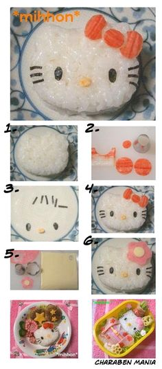 Bento Friday: kawaii Hello Kitty bento box | http://rink.me/1AFYtyK