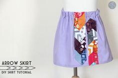 Me Sew Crazy: Arrow Skirt Tutorial