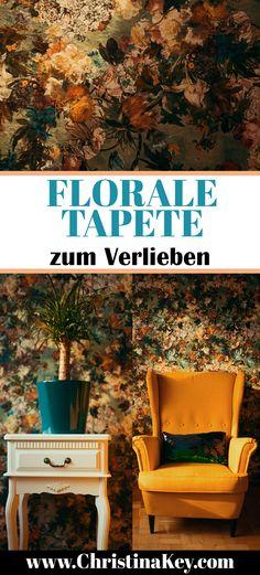 Die Wunderbar Florale Tapete Von RASCH Interior Inspiration
