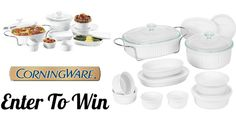 Win A 17-Piece CorningWare Set