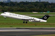 Contact Air | Fokker 100 | D-AFKF | Star Alliance livery | Dusseldorf International