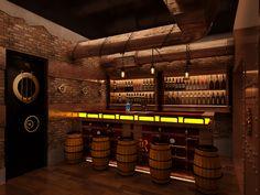 Chonas | Steampunk restaurant on Behance