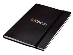 A5 Journal With Elastic Band Closure - 80 Pages at Diaries | Ignition Marketing Corporate Gifts