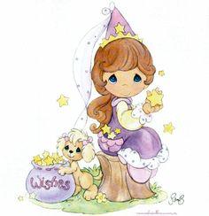precious moments graphics | Precious Moments | Pretty as a Princess | Bonita como una Princesa ...