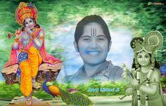 jaya-kishori wallpaper, Hindu wallpaper, Jaya Kishori Ji Wallpaper,, Download wallpaper, Spiritual wallpaper - Totalbhakti Preview