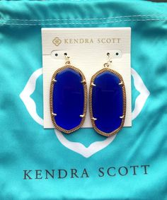 First pair of Kendra Scott earrings!!
