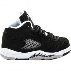 7fdacd9995b Air Jordan Retro 5 Infant Toddler Lifestyle Shoe (Black Grey White) Limit 1  Per Customer