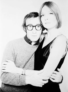 Woody Allen and Diane Keaton. Don't care for woody Allen but look at Diane being SO young! Love