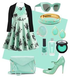 """A sprinkle of mint"" by prettyfashionist on Polyvore featuring Miu Miu, Apt. 9, Paule Ka, Billabong, J.Crew, Rina Limor, Karen Kane, New Look and Victoria's Secret"