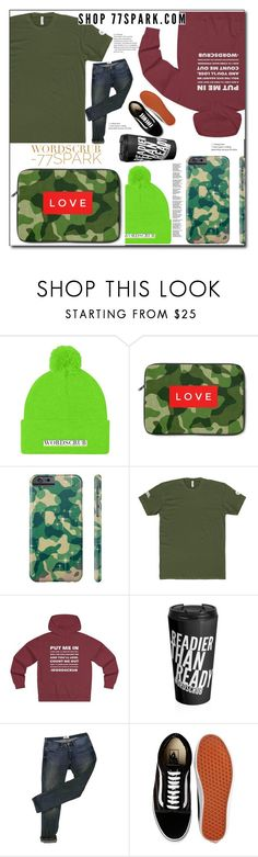 """What a man ! By 77spark"" by eldinreham ❤ liked on Polyvore featuring Acne Studios, Vans, men's fashion and menswear"