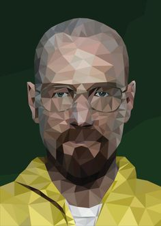 Heisenberg A4/A3 Poster. Breaking Bad Print. Low by JacksPosters.