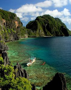 El Nido, Palawan in the Philippines: