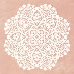 Wall Motif Lace Doily Stencil - Royal Design Studio Stencil