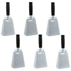 Buffalo Tools 6-piece Customizable Cowbell Set - Men, Multicolor