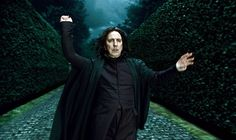 RIP Allan Rickman: In 'Harry Potter' (2001-2011) -  Severus Snape, the character Rickman embodied in eight films spanning a decade, will likely go down as the most iconic of the actor's wide-ranging career. Snape hit a multitude of the highlights of Rickman's talents, showing him as both a villain and a tragically heroic, romantic figure. (Photo: Everett Collection)