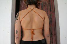 Ravelry: Aphra Bralette pattern by Luisa B Bralette Pattern, The Row, Ravelry, Bikinis, Swimwear, Bathing Suits, Swimsuits, Bikini, Bikini Tops