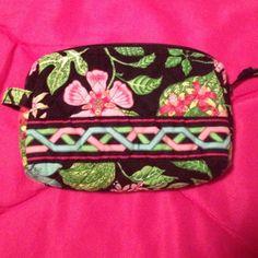 Vera Bradley cosmetic case Retired botanic gardens pattern. Never used Vera Bradley Bags Cosmetic Bags & Cases