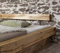 SAM® Balkenbett JAKOB mit Schubkästen Massiv 200x200 cm Demnächst !