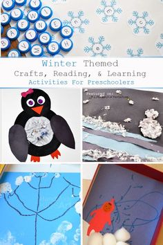A Little Pinch of Perfect: Winter Themed Crafts & Activities for Preschoolers